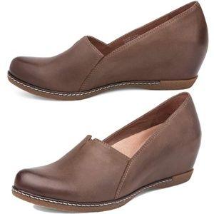 Dansko Liliana Burnished Wedge Shoe